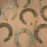 cotton, organza, lead, copper wire 300 x 100 cm / 2009