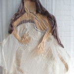 silk, felt, cotton, gauze 250 x 90 cm / 2014
