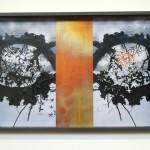 wood, copper, photo, glass 44,5 x 71,5 x 4,5 cm / 2008