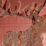 organza, felt, lace 300 x 110 x 1 cm / 2010