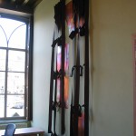 copper, fabric 220 x 100 x 5 cm / 2004